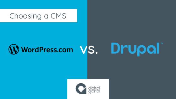 Choosing a CMS: WordPress vs. Drupal